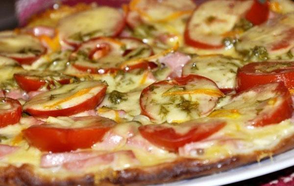 тесто из сметаны и муки для пиццы