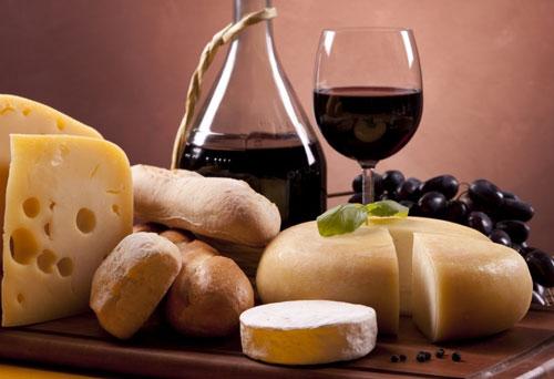 Диета с сыром и вином