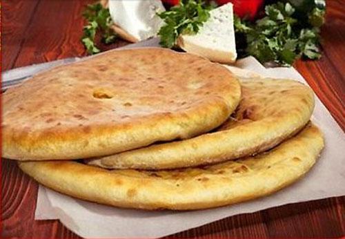 Осетинские пироги с мясом и сыром