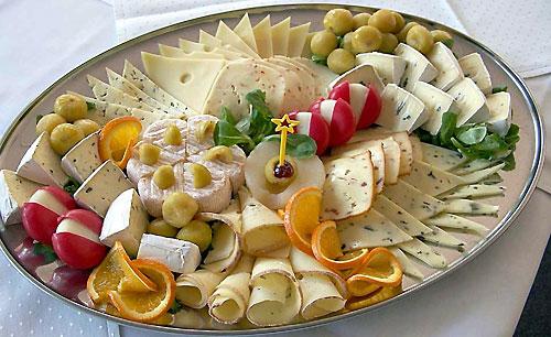 Сырная терелка