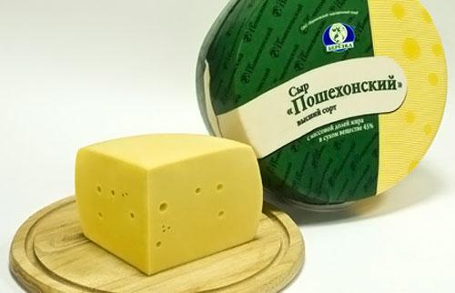 Пошехонский сыр в домашних условиях