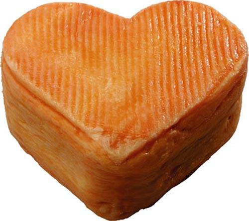 Сыр ролло сердечком