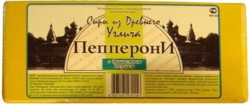 Сыр Пепперони