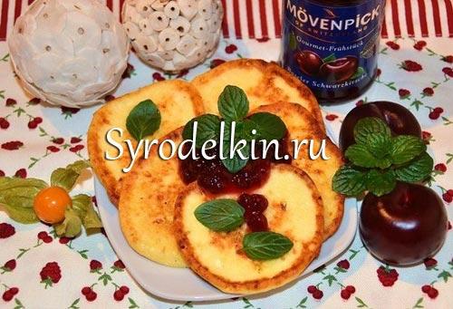 Творожные сырники на завтрак