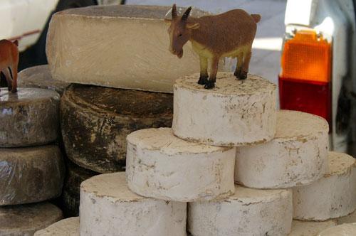Приготовление козьего сыра
