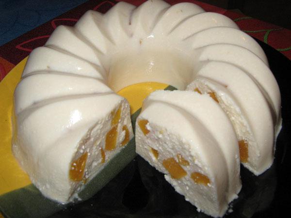Десерт бланманже рецепт