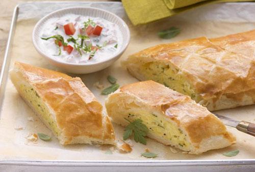 Картофельный штрудель с сыром Латтерия